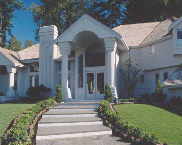 阶梯 大门 欧式 园林别墅-园林-园林,园林别墅