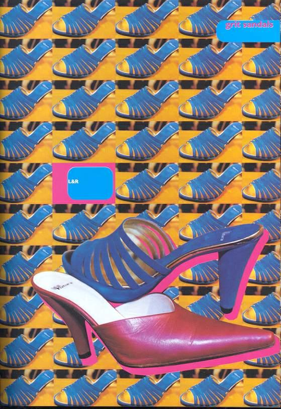 新潮鞋样图片-广告创意图