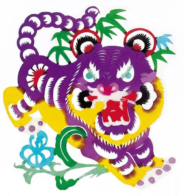 中华剪纸图片-中国民间艺术图
