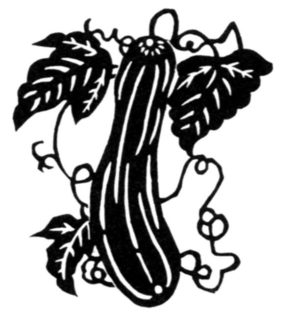 植物图案花纹图片-中国民间艺术图