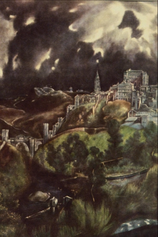 乌云 风景油画-国外传世名画-国外传世名画,风景油画