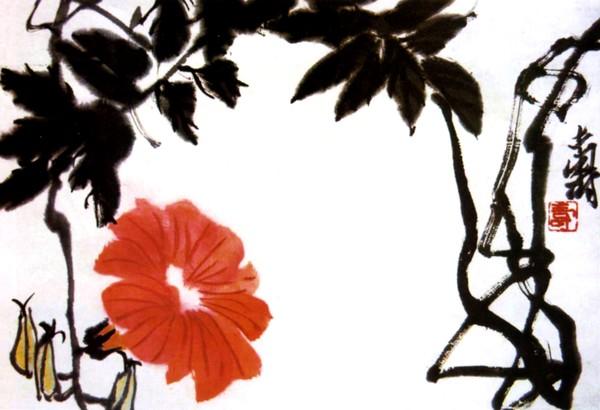 引用 引用 近现代中国画十大师作品欣赏(图文)下 - yanjianguo2969020 - 颜建国的书画评论和文学原创博客
