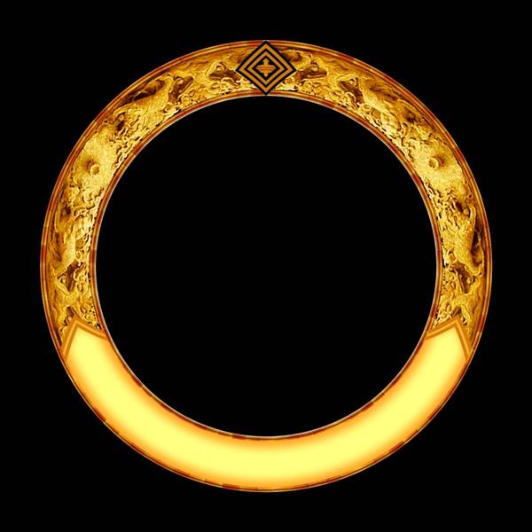 圆圈 古典小品-设计组件素材-设计组件素材,古典小品