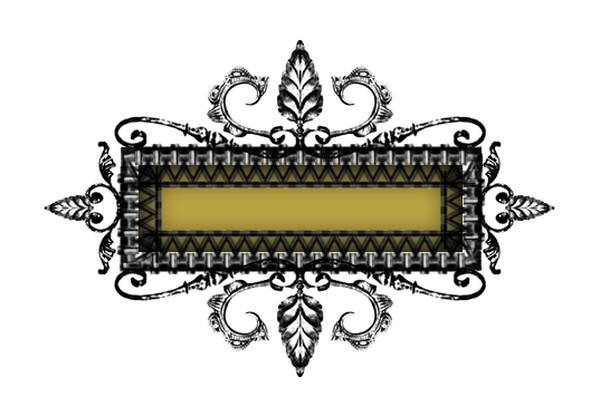 金属边框图片-设计组件素材图,设计组件素材,金属边框