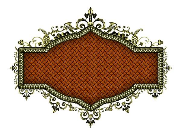 设计组件素材,金属边框
