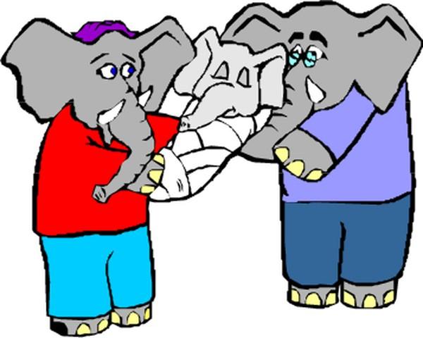 动物拟人化卡通图片-拟人卡通图