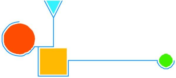 几何图形 饰角-边框背景-边框背景,饰角