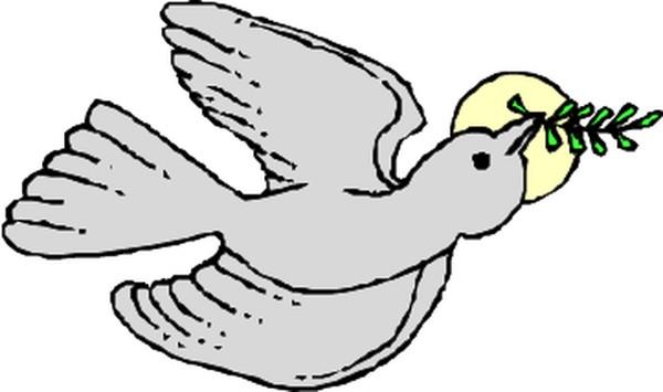 信鸽图案简笔画