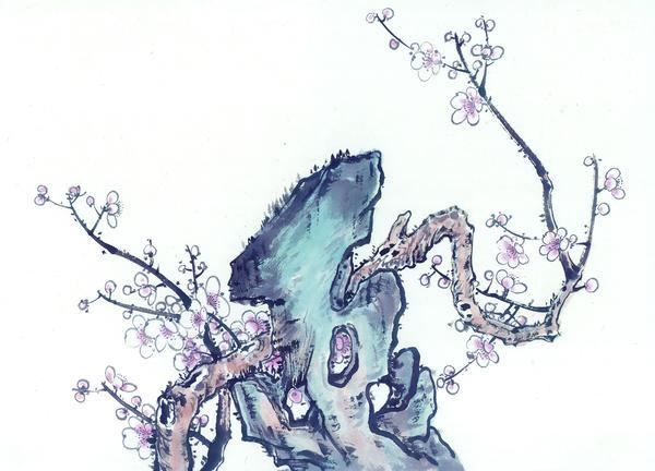 梅花树干简笔图片图片 梅花树干简笔画 图,梅花树干的画法 -梅花树干