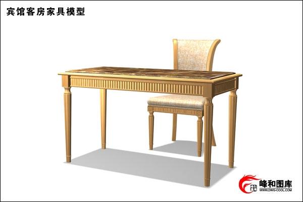 宾馆桌椅设计图