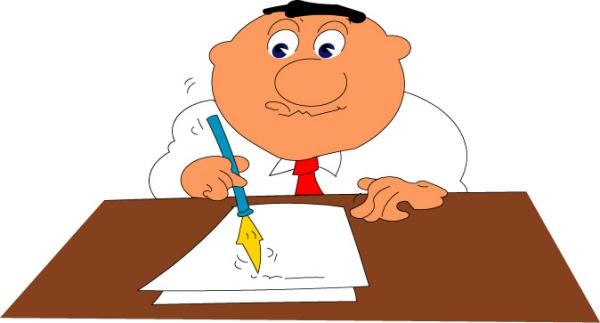 生意卡通图片-漫画卡通图 办公桌 办工时间,卡通形象