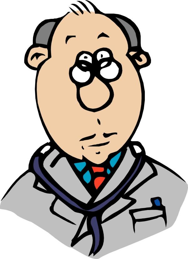 职业男性-卡通形象-卡通形象