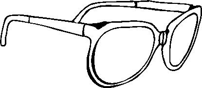 眼镜图片 服饰潮流图 眼镜简笔画,服饰潮流,眼镜,Modern,Dress,Glasses