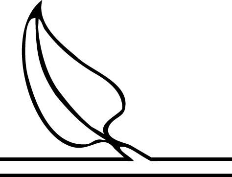 黑白线条边框素材;
