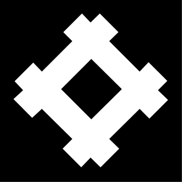 对称标志 亚洲图案-标识图形-标识图形
