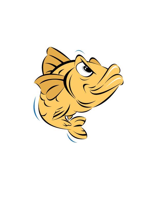 插图图片-动物图 鲤鱼