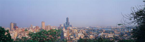 城市 植物 远景 广角看世界-自然风景-自然风景,广角看世界