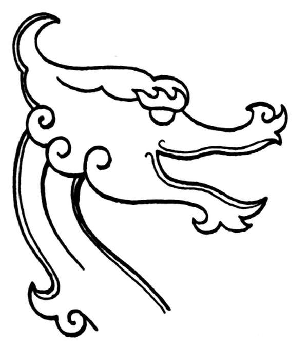 龙纹图片-中华文化图+龙头