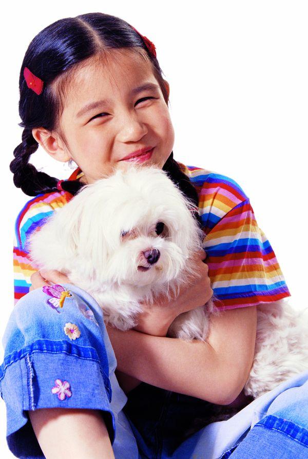 亲子教育-天真儿童 可爱 笑容 朴实