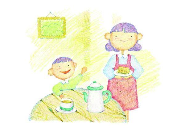 欢乐家庭图片-标题插画图