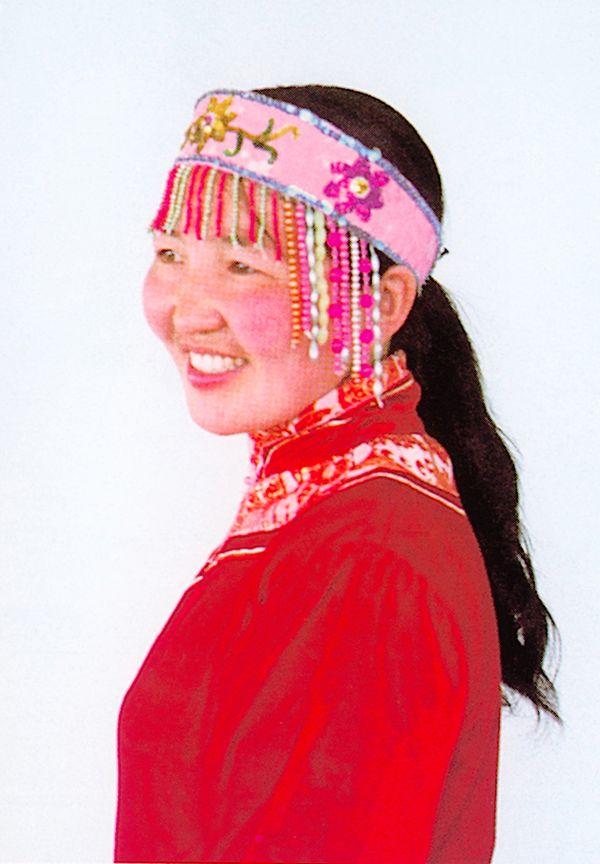 民族简影图片 人物图 少数 名族 特色 服饰 头部