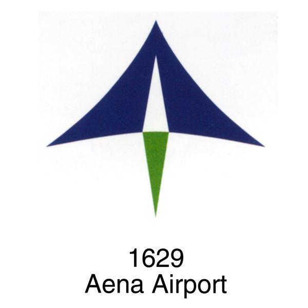 图形 菱形 aena 飞机场-世界标识-世界标识,飞机场
