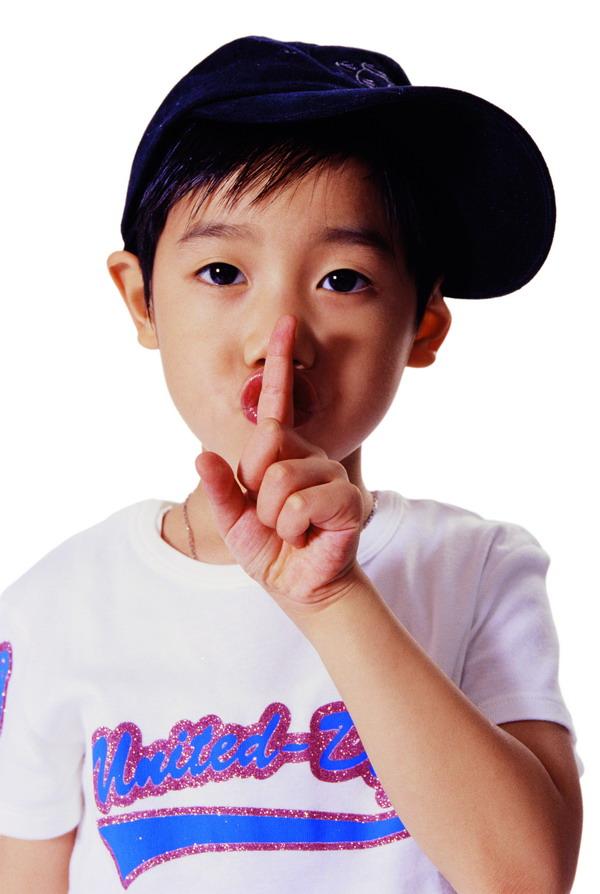 小孩安静嘘手势头像 安静嘘手势头像