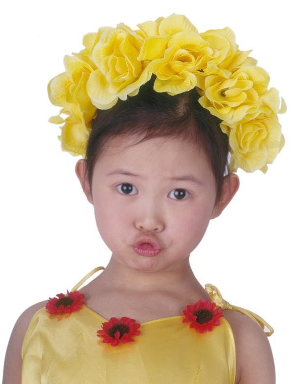 嘟嘴 可爱小女孩 活力 可爱幼童-人物-人物,可爱幼童