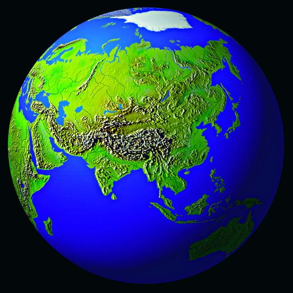 地球 大陆 海洋