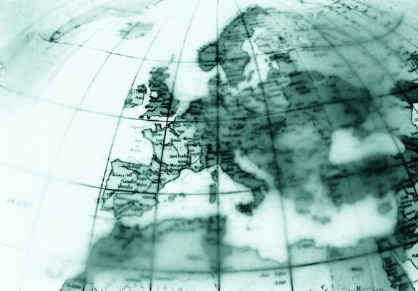 半球 网格线 残旧 模糊 经纬线 地球剖析-科技-科技,地球剖析