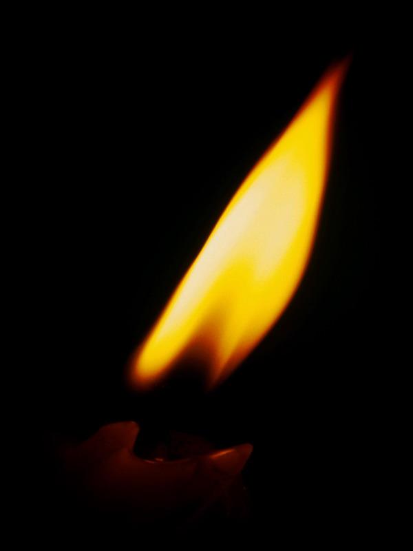 画火焰的简笔画 蜡烛火焰简笔画