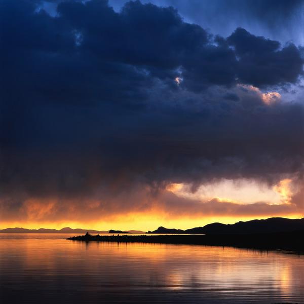 夕阳风景图片-自然风景图