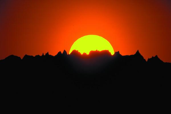 阳光 山峰 日落 美国风景-世界风光-世界风光,美国风景
