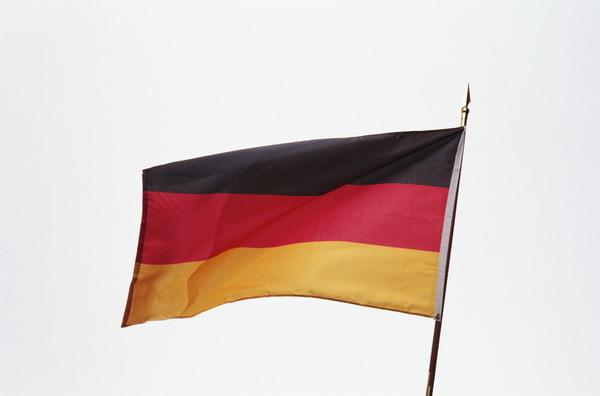 德国国旗图案矢量素材