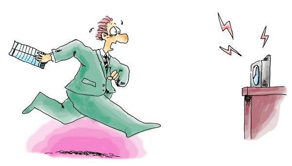 人物漫画图片-广告创意图