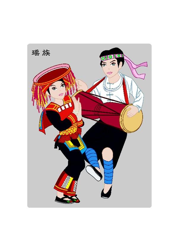 手鼓 中国五十六个民族-中国传统-中国传统,中国五十六个民族