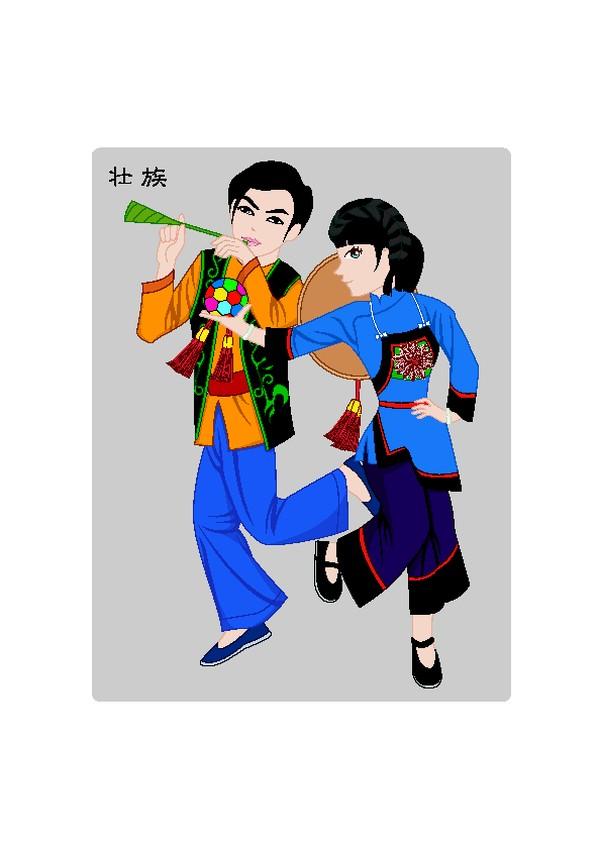 中国五十六个民族图片 中国传统图,中国传统,中国五十六个民族
