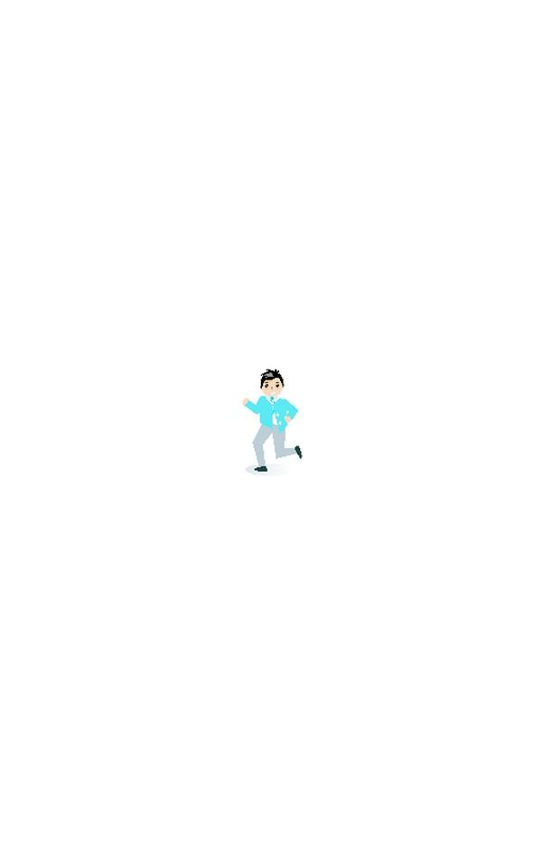 晨跑 锻炼身体 赛跑 体育运动 跑步男人 人物休闲-卡通人物-卡通人物