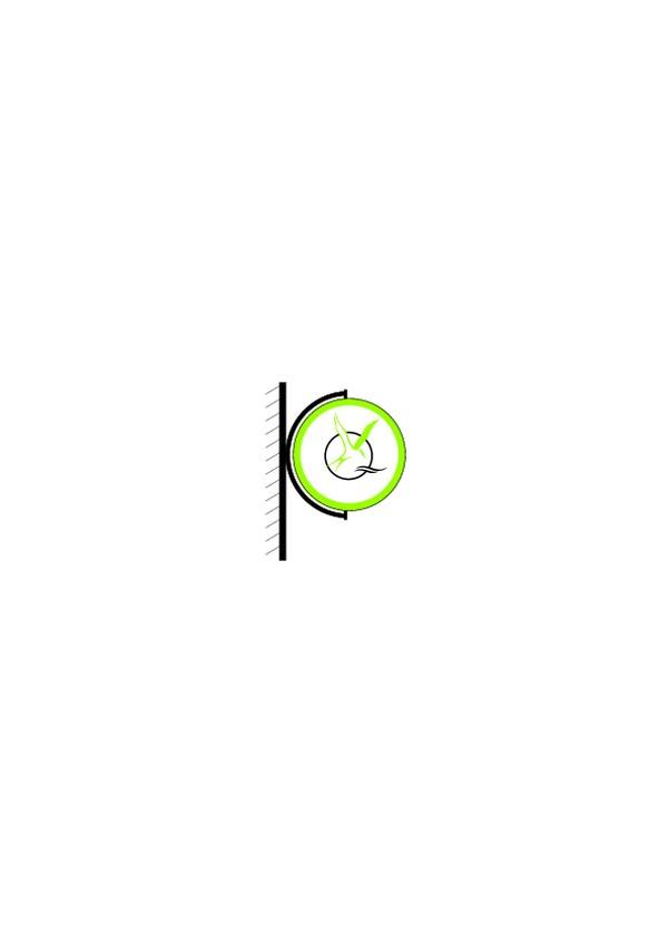 圆圈 淡绿 广告牌 旗帜标示vi模板-商业vi设计模板-商业vi设计模板