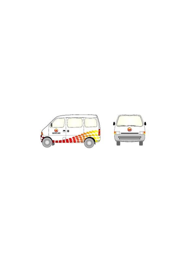车辆广告vi模板-商业vi设计模板-商业vi设计模板
