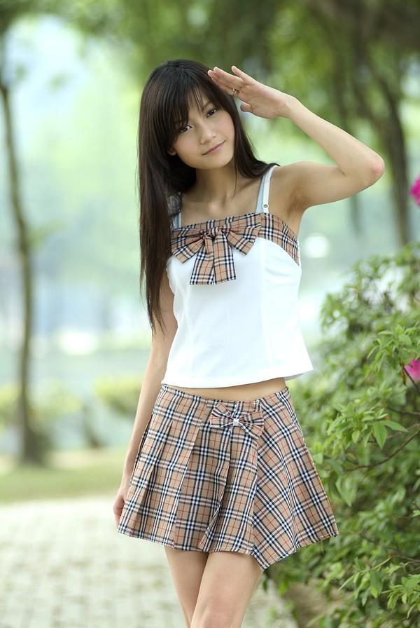 少女日记图片 美容图 夏装 裙装 清纯 美容