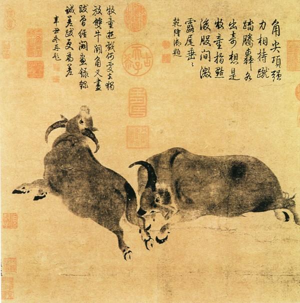 动物名画,花鸟名画图片-中国传世名画图