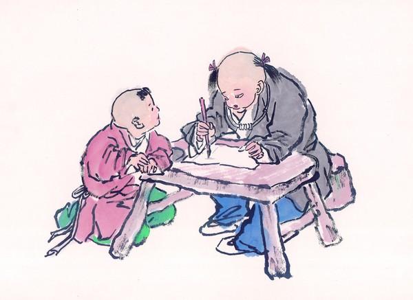 国画学习_童心童戏图片-中国国画图 书法 学习 毛笔,中国国画,童心童戏