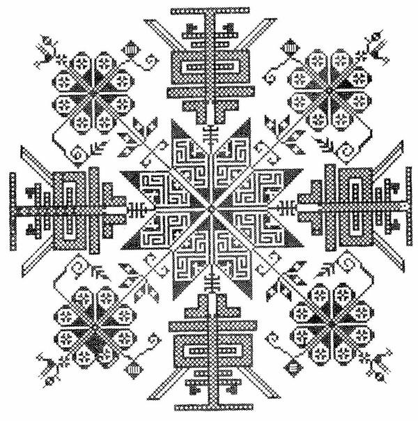 几何花纹-中国民间艺术-中国民间艺术