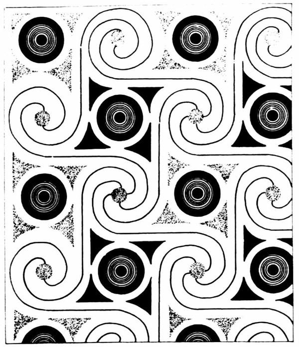 几何花纹图片-中国民间艺术图
