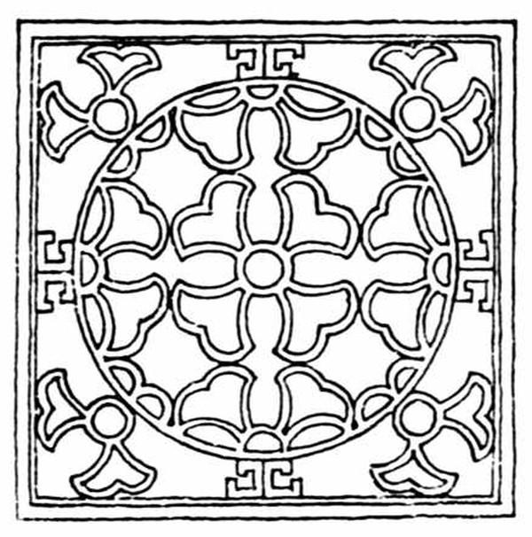 中国民间艺术-几何花纹