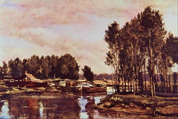 风景油画-国外传世名画-国外传世名画,风景油画