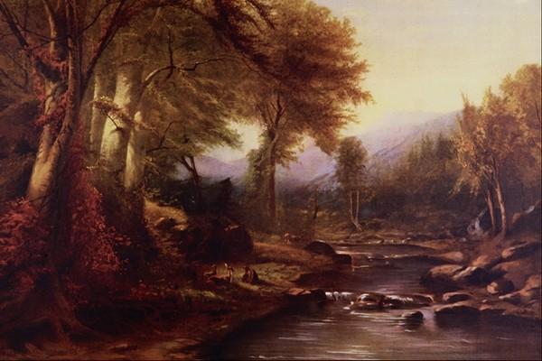 风景油画图片-国外传世名画图