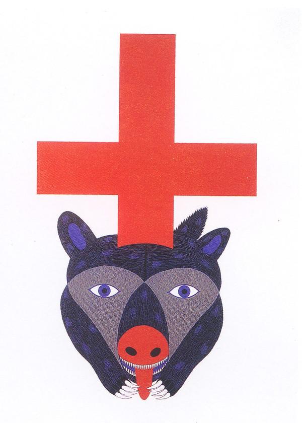 动物 红鼻子 日本设计师作品-日本广告作品