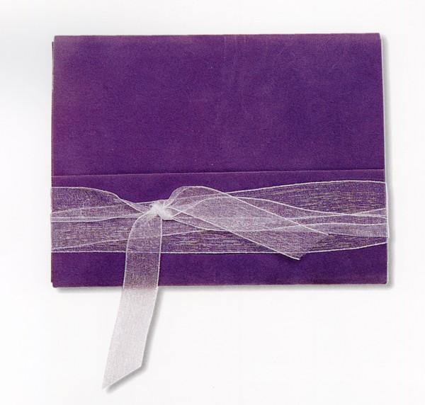 华文设计年鉴-型录卷-纸品创意设计 彩带 紫色 纸卷设计